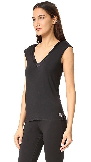 Calvin Klein Underwear Essentials Satin Cap Sleeve Top