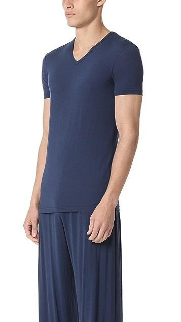 Calvin Klein Underwear Short Sleeve V Neck T-Shirt