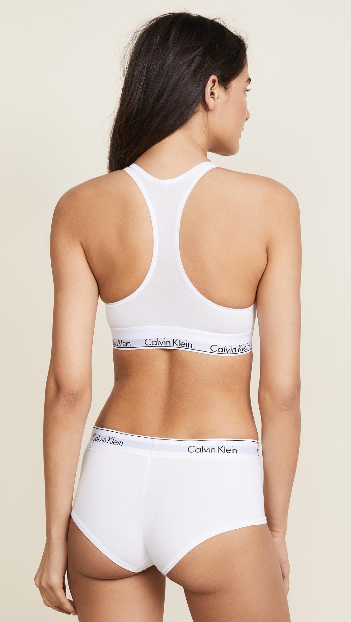 3b8bf317af69c5 Calvin Klein Underwear Modern Cotton Bralette