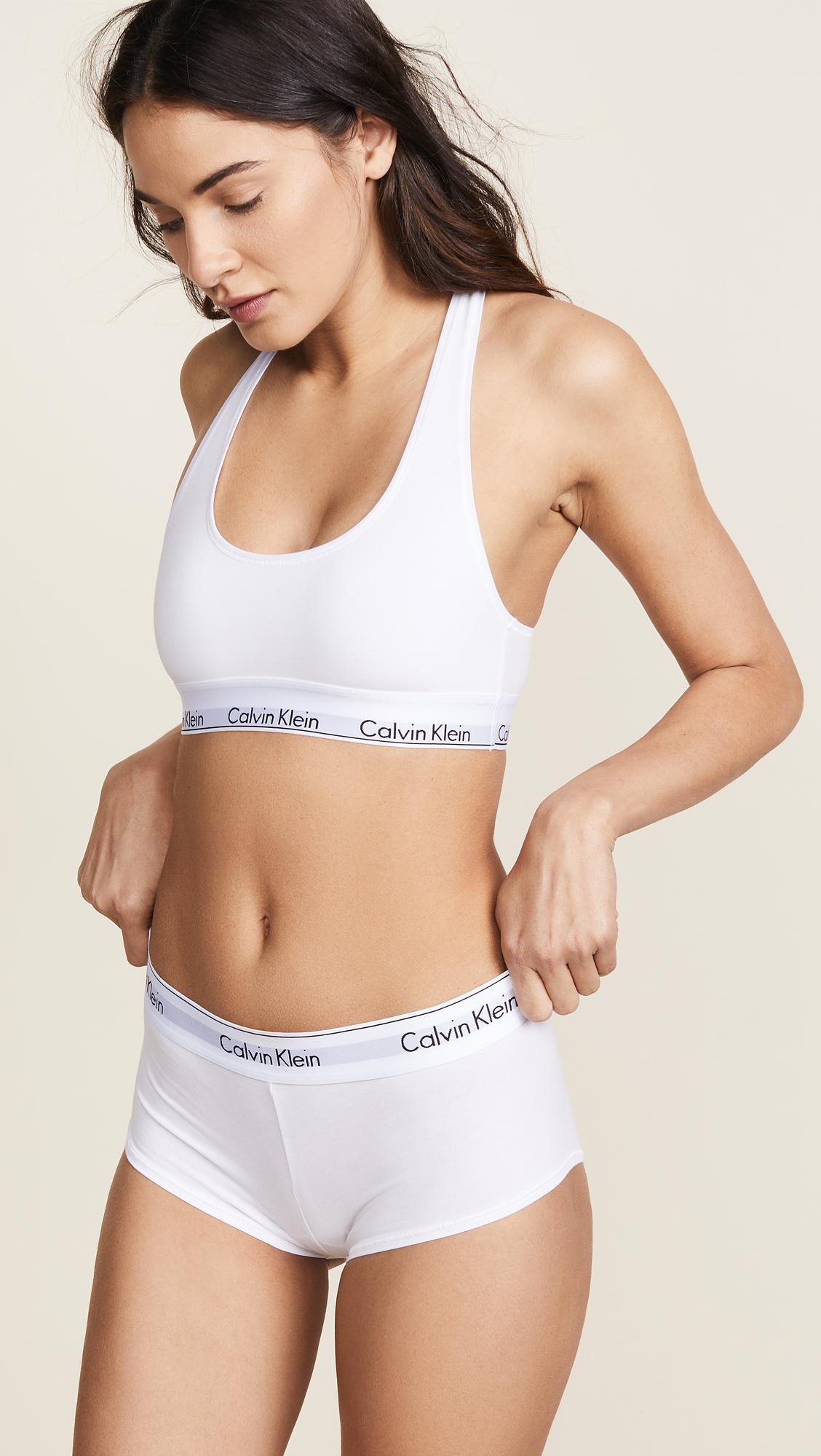 99fe496706 Calvin Klein Underwear Modern Cotton Boy Shorts