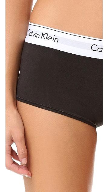 Calvin Klein Underwear Modern Cotton Boy Shorts