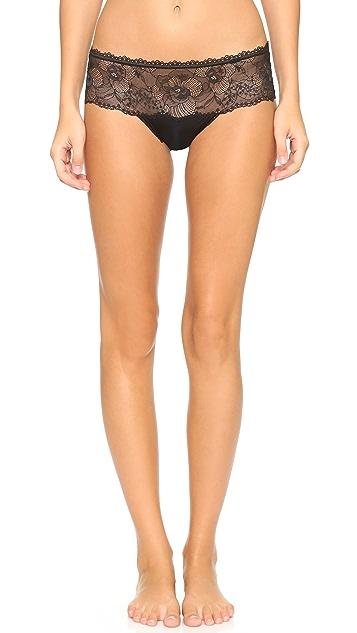 Calvin Klein Underwear CK Black Hipster Briefs