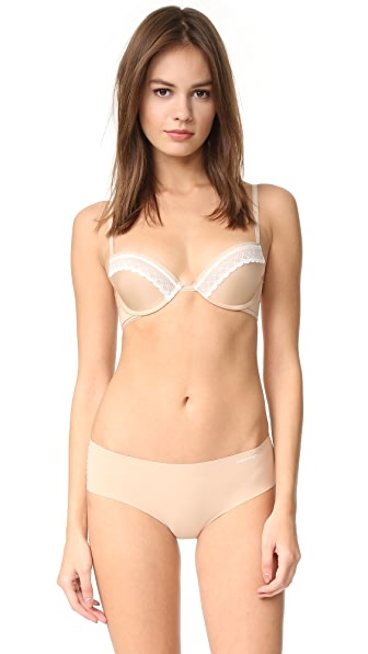 Calvin Klein Underwear Signature Push Up Bra - Bare