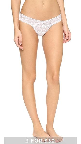 Calvin Klein Underwear Кружевные трусики-танга Bare
