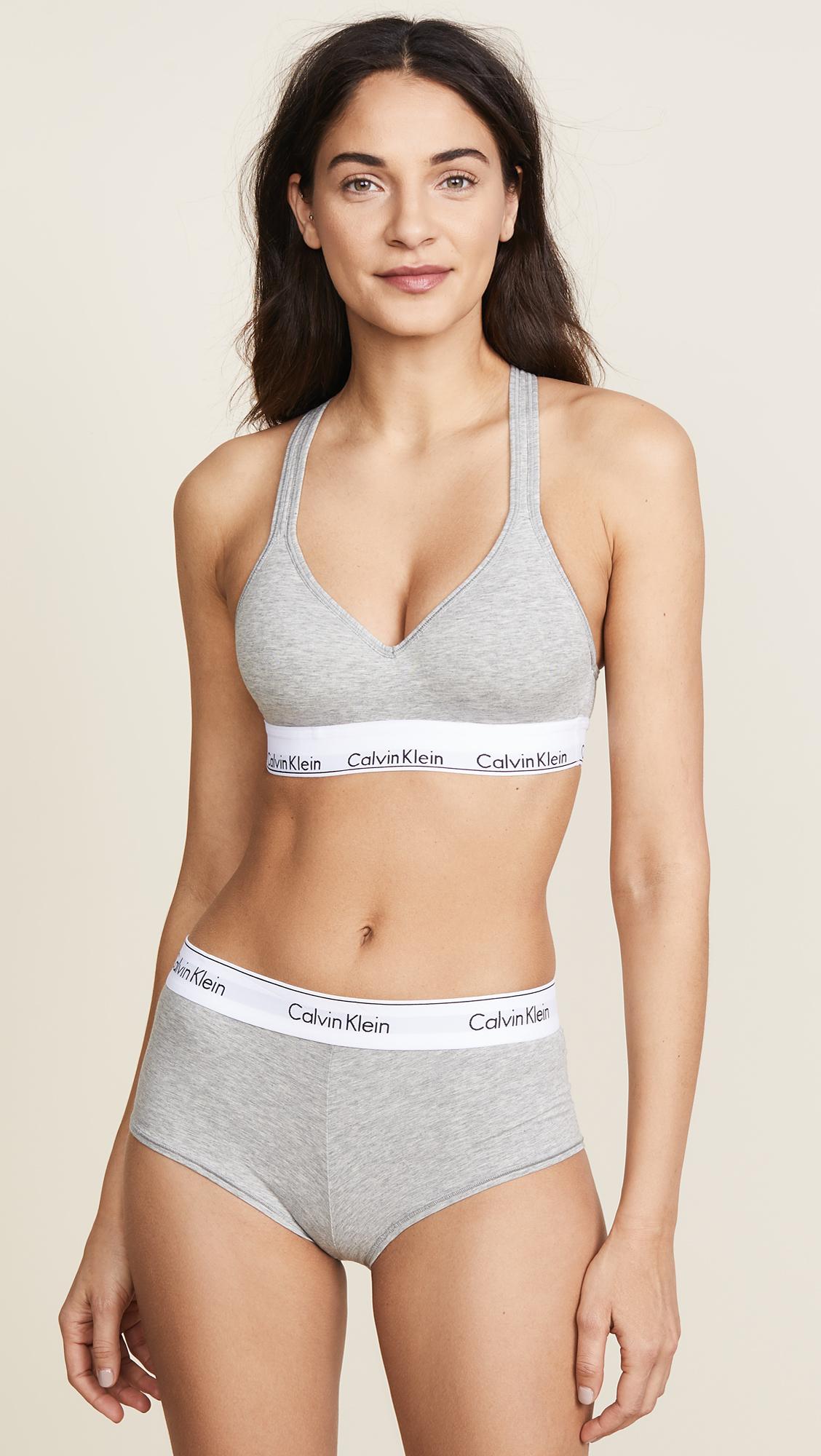 1bc6f3e49b8db Calvin Klein Underwear Modern Cotton Lightly Lined Bralette