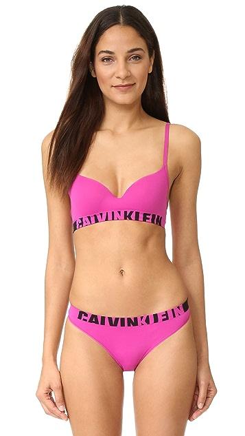 Calvin Klein Underwear Seamless Logo Lightly Lined Demi Multiway Bra
