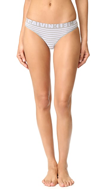 Calvin Klein Underwear Seamless Logo Stripe Bikini Panties