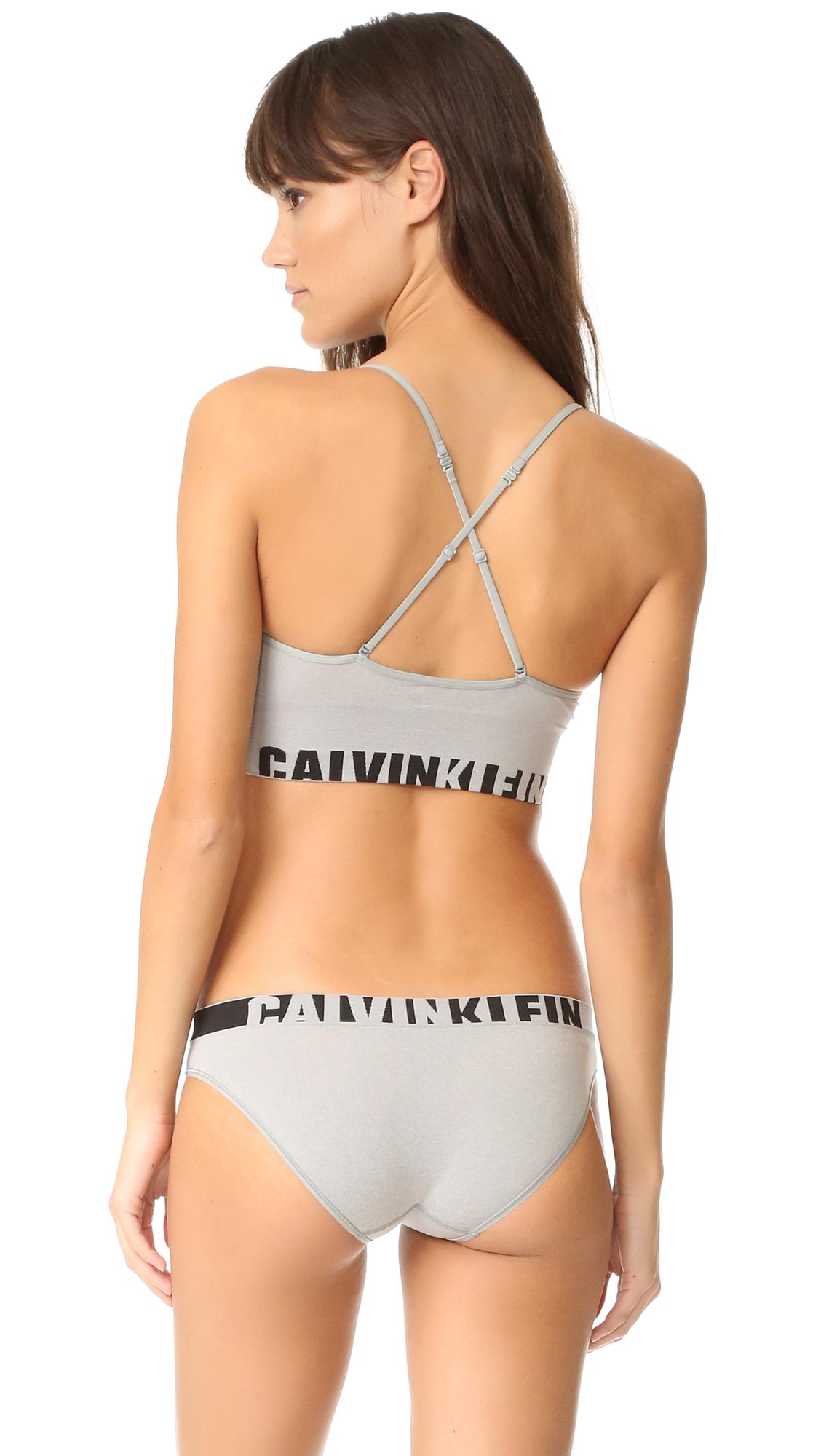 0befca57d7db4 Calvin Klein Underwear Seamless Logo Multi Way Bralette