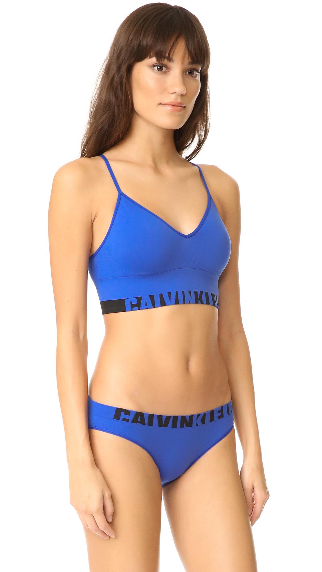 e58a7f4f3 Calvin Klein Underwear Seamless Logo Multi Way Bralette