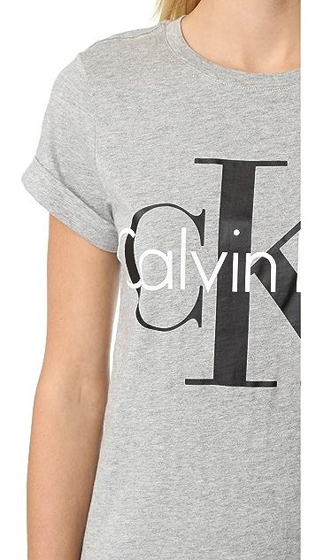 Calvin Klein Underwear Retro Calvin Short Sleeve Tee