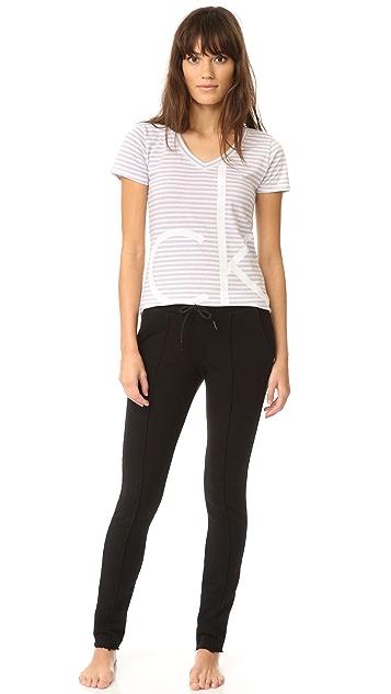Calvin Klein Underwear CK Lounge Short Sleeve Tee