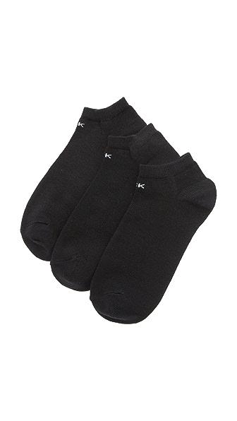 Calvin Klein Underwear Ankle Sock Three Pack