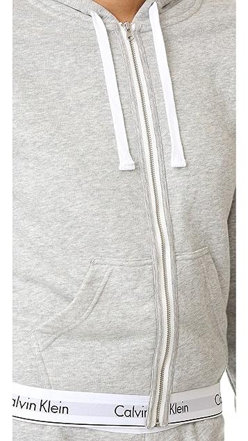 Calvin Klein Underwear Modern Cotton Full Zip Hoodie