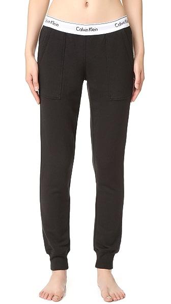 Calvin Klein Underwear Modern Cotton Jogger Pants In Black