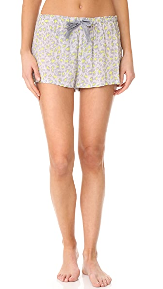 Calvin Klein Underwear Woven Shorts - Dynamical Leopard