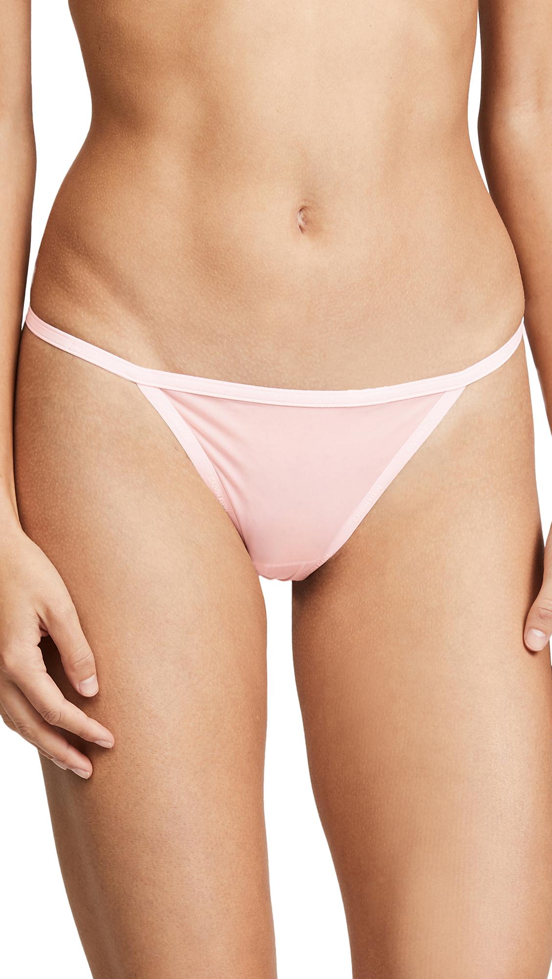cb596f1584 Calvin Klein Underwear Sheer Marq String Thong