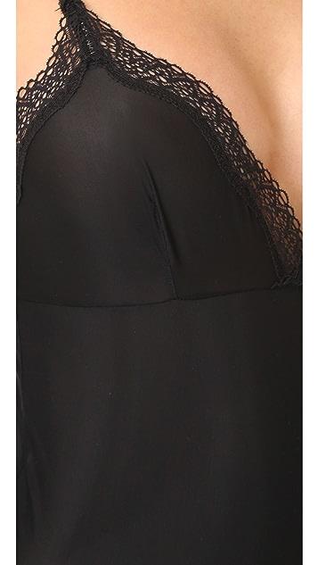 Calvin Klein Underwear Sheer Marq Lace Bodysuit