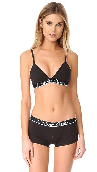 Calvin Klein Underwear Calvin Klein ID Triangle Bra - Black