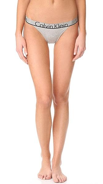Calvin Klein Underwear Calvin Klein ID Tanga - Grey Heather