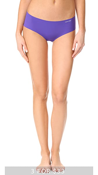 Calvin Klein Underwear Трусики-шорты с низкой талией Invisibles