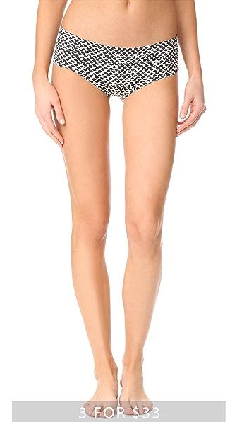 Calvin Klein Underwear Невидимые трусики с низкой талией и принтом