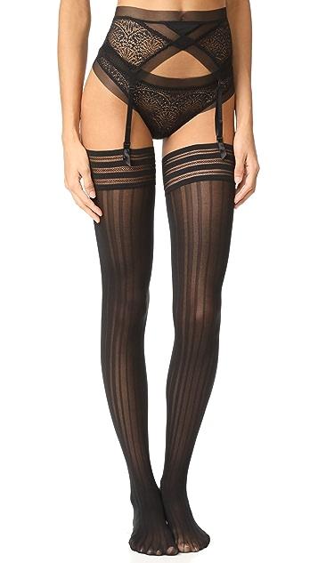 Calvin Klein Underwear CK Black Garter
