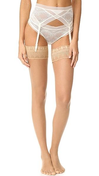 Calvin Klein Underwear Пояс для чулок CK Black