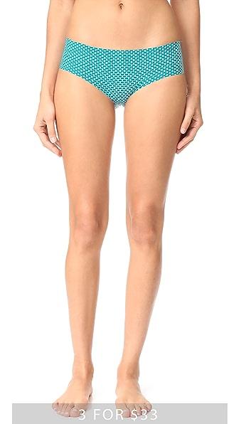 Calvin Klein Underwear Трусики Invisibles с низкой талией и принтом