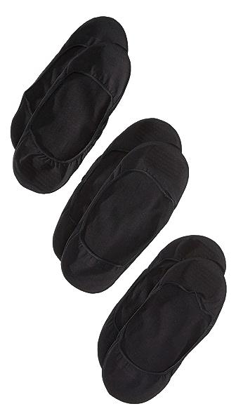 Calvin Klein Underwear 3 Pack No Show Socks