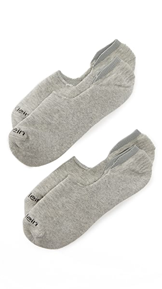 Calvin Klein Underwear 2 Pack Cushion No Show Socks