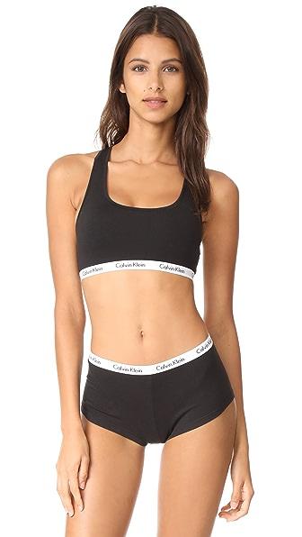 Calvin Klein Underwear Carousel Bralette - Black