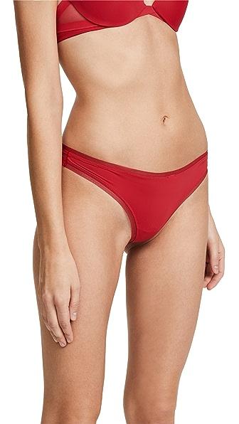 Calvin Klein Underwear Sculpted Thong In Empower