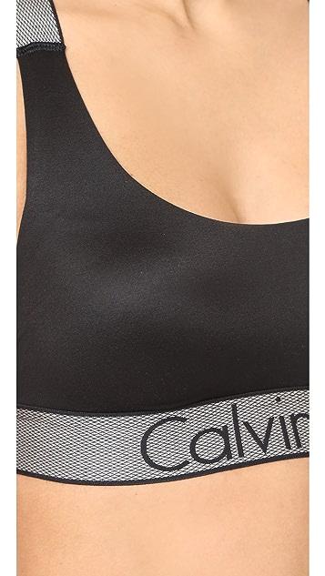 Calvin Klein Underwear Customized Stretch Lightly Lined Bralette