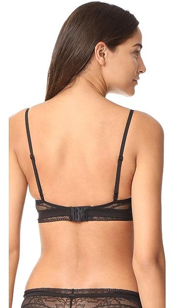 Calvin Klein Underwear CK Black Unlined Triangle Bra