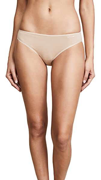Calvin Klein Underwear Form Bikini Panties In Bare
