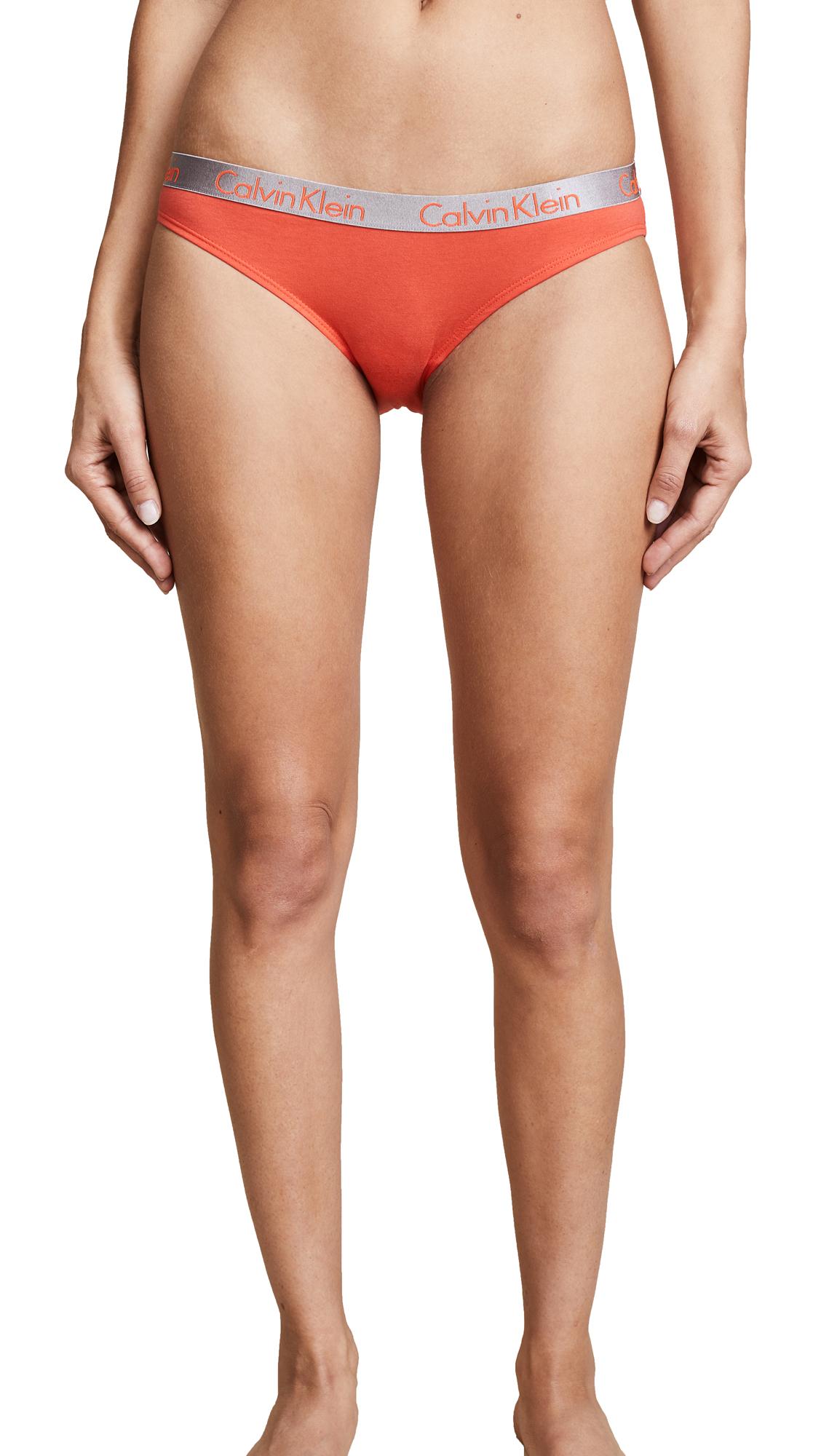 e4efa055d102 Calvin Klein Underwear 3 Pack Radiant Cotton Bikini Briefs | SHOPBOP
