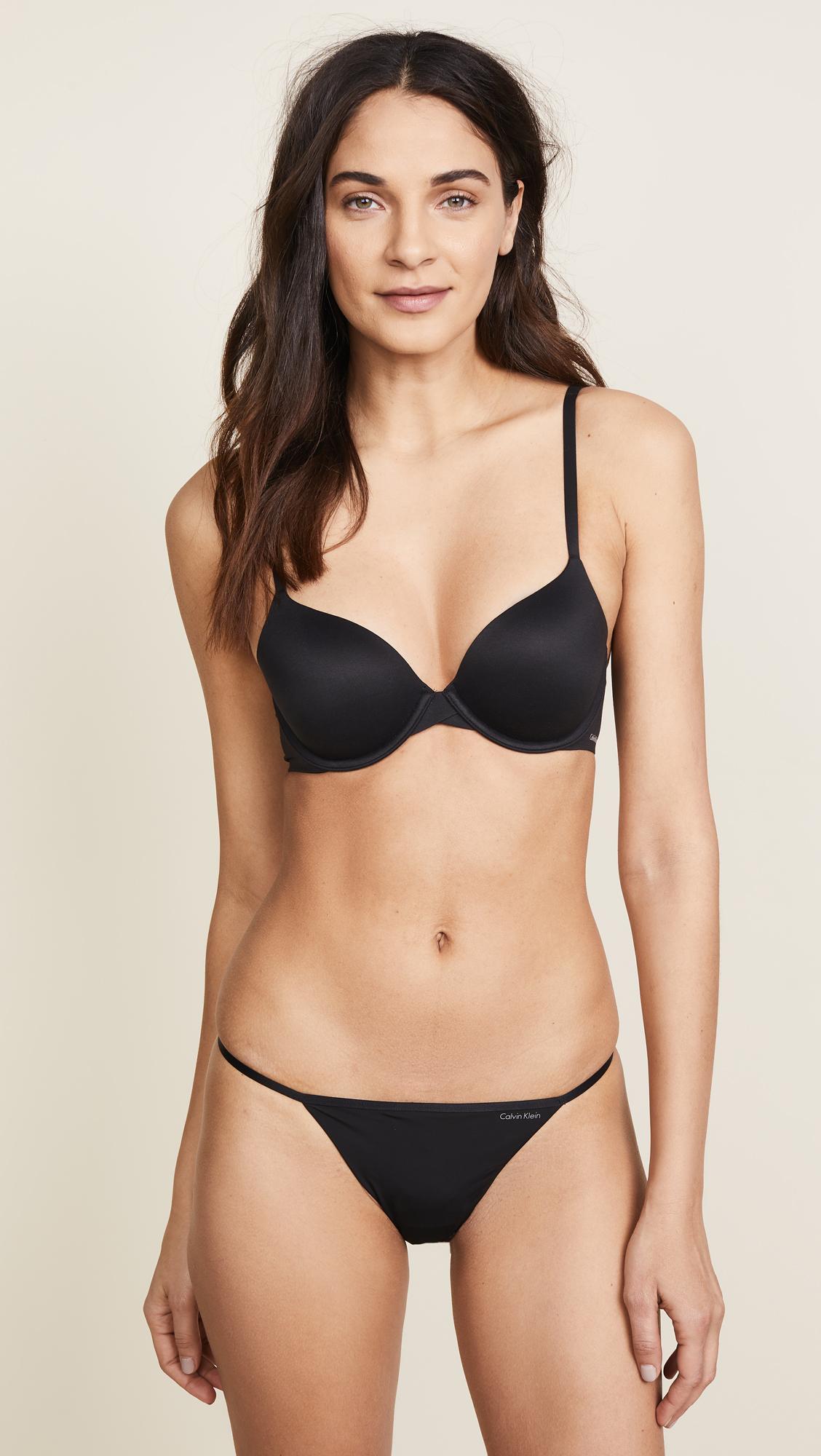 e6898ecd8c Calvin Klein Underwear Sleek Model Thong