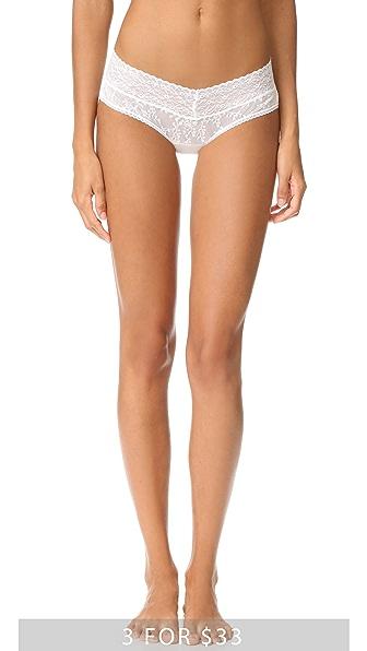 Calvin Klein Underwear Кружевные трусики с низкой талией Bare