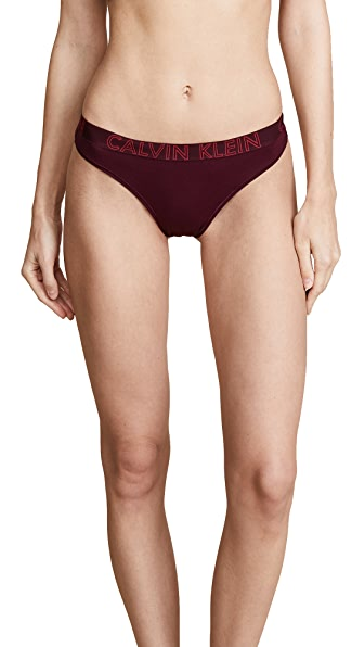 Calvin Klein Underwear Ultimate Cotton Thong In Brazen
