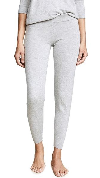 Calvin Klein Underwear Pure Knit Sleep Pants In Grey Heather