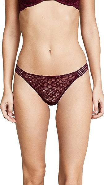 Calvin Klein Underwear Vixen Thong In Brazen