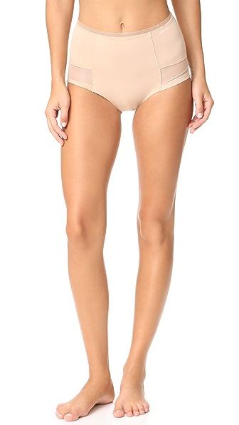 Calvin Klein Underwear High Waist Hipster Panties - Nude
