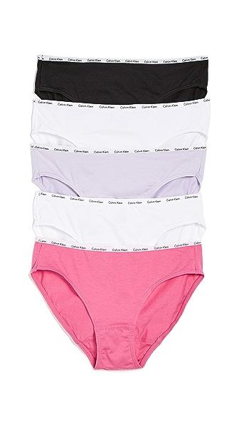 Calvin Klein Underwear 5 Pack Bikini Briefs