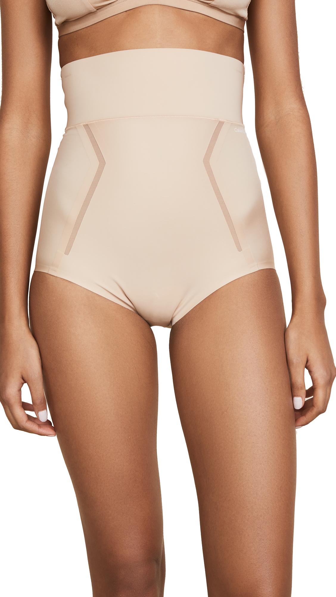 821613c462 Calvin Klein Underwear Sculpted Shapewear High Waist Briefs In Bare