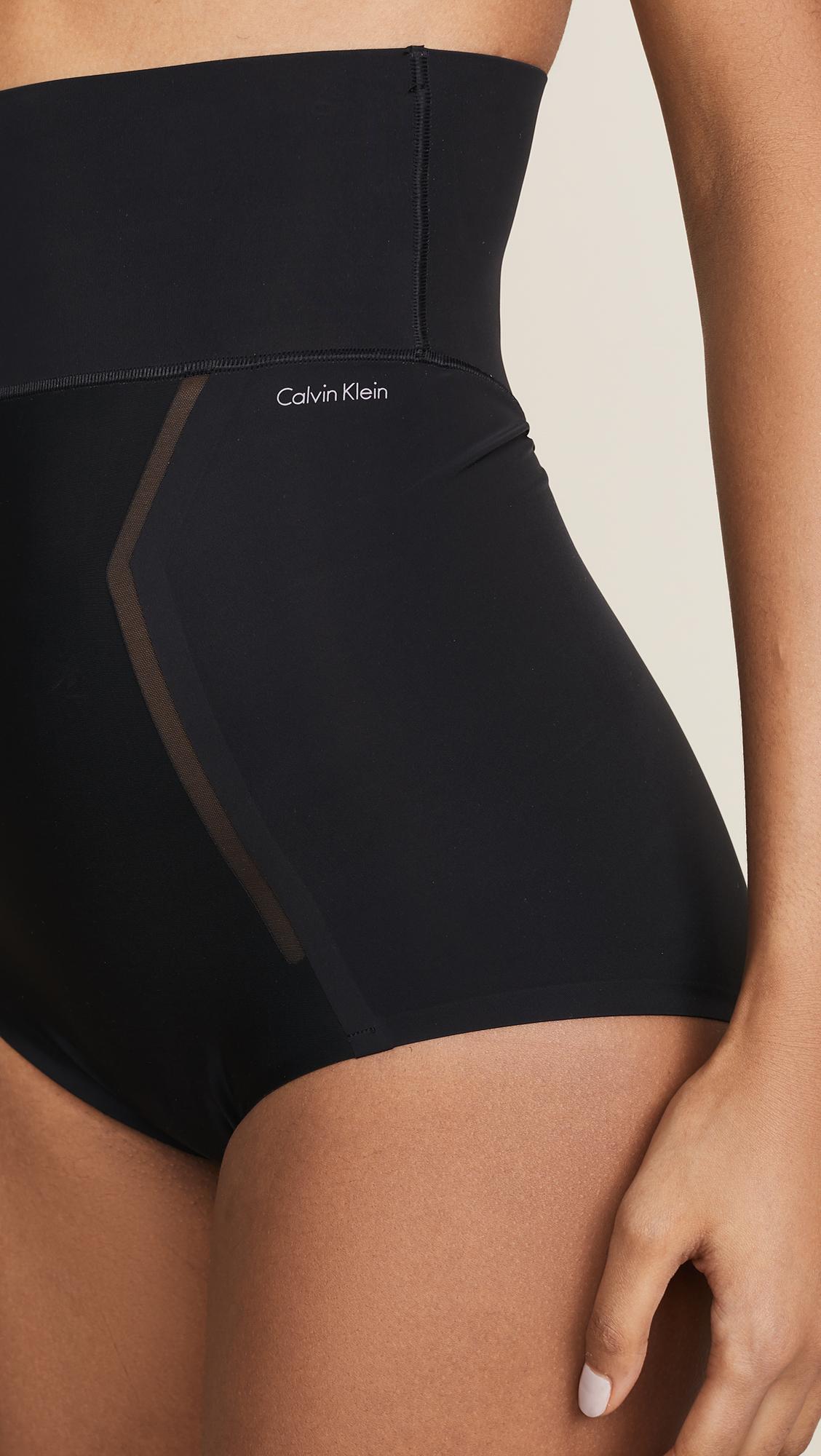 1cb5bd6aaa Calvin Klein Underwear Sculpted Shapewear High Waist Briefs
