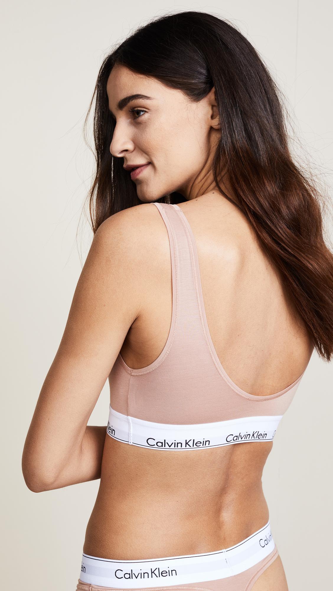 a7b22b807fe954 Calvin Klein Underwear Modern Cotton U Back Bra