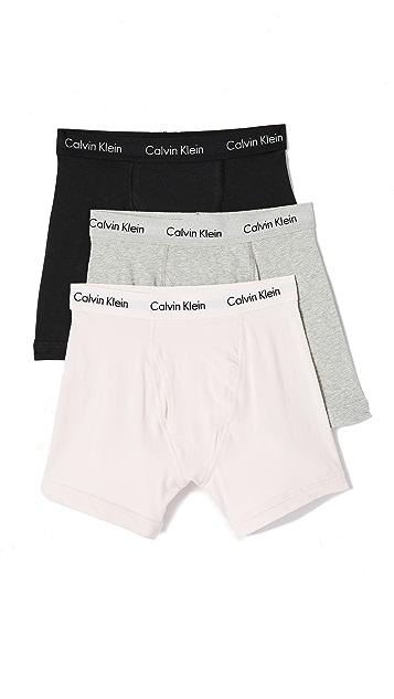 Calvin Klein Underwear Cotton Stretch Boxer Thigh Briefs