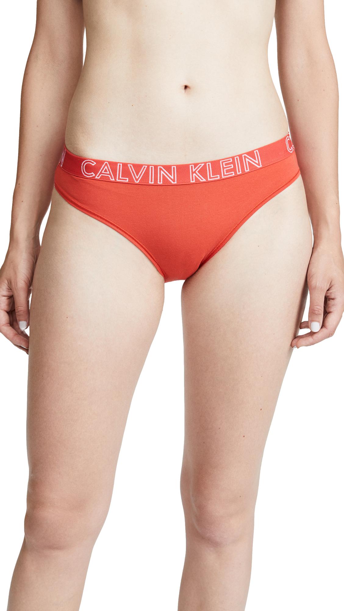 Calvin Klein Underwear Ultimate Cotton Bikini In Marlow