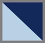 Chambray Heather/Estate Blue