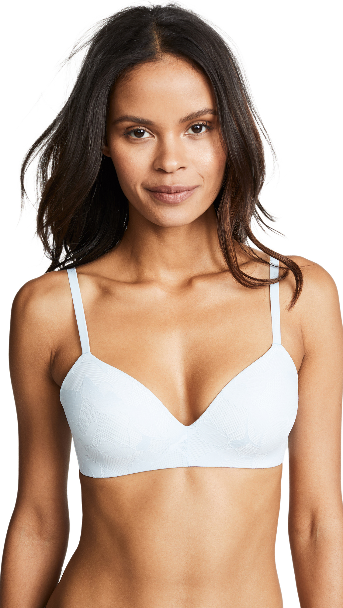 Calvin Klein Underwear Form with Lace Demi Bra In Teardrop